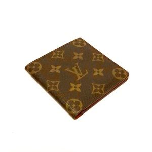 Authentic Vuitton Monogram 6 Card Holder Wallet
